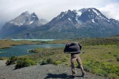 Patagonië is berucht om de harde wind, die altijd aanwezig is