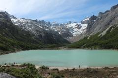 De kleur van het water van Esmeralda Lagune weet iedere bezoeker te verleiden