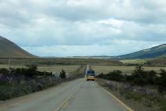 Reizen met de bus in Patagonië is erg comfortabel