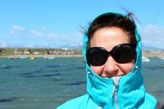 Patagonië in de vroege zomer. Zonnig, fris en altijd winderig
